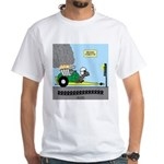 Turtle Dragster White T-Shirt