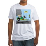 Turtle Dragster Fitted T-Shirt