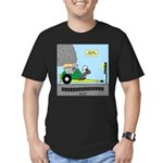 Turtle Dragster Men's Fitted T-Shirt (dark)