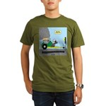 Turtle Dragster Organic Men's T-Shirt (dark)