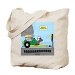 Turtle Dragster Tote Bag