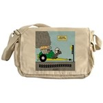 Turtle Dragster Messenger Bag