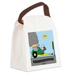 Turtle Dragster Canvas Lunch Bag