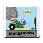 Turtle Dragster Mousepad