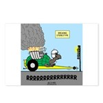 Turtle Dragster Postcards (Package of 8)