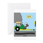 Turtle Dragster Greeting Cards (Pk of 10)