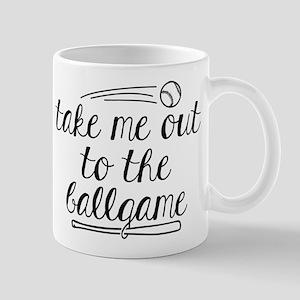 Take Me Out To The Ballgame 11 oz Ceramic Mug