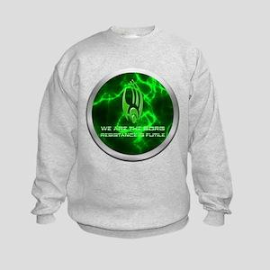 Borg Emblem Kids Sweatshirt