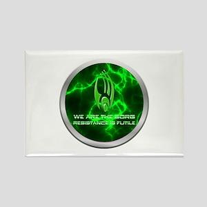 Borg Emblem Rectangle Magnet
