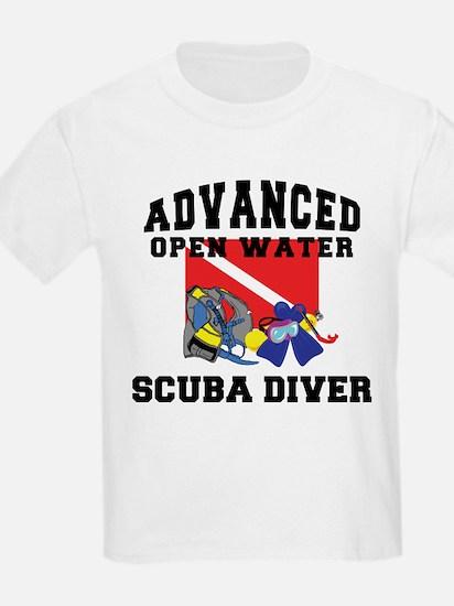 Advanced SCUBA Diver Kids T-Shirt