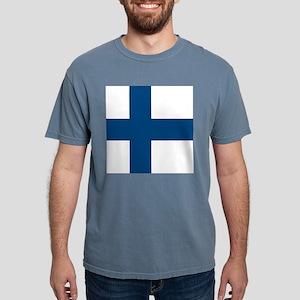 Finnish Flag Mens Comfort Colors Shirt