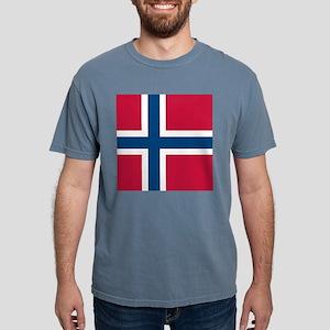 Norwegian Flag Mens Comfort Colors Shirt