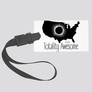 Totality Awesome Large Luggage Tag