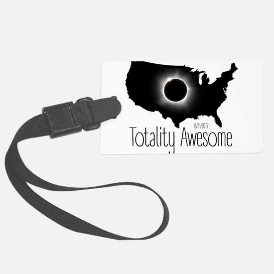 Totality Awesome Luggage Tag