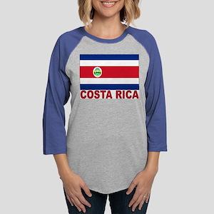 costa-rica_s Womens Baseball Tee