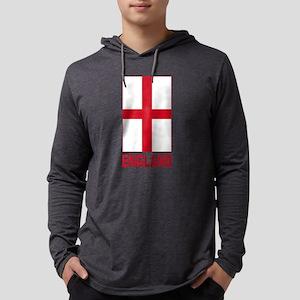 england_b Mens Hooded Shirt