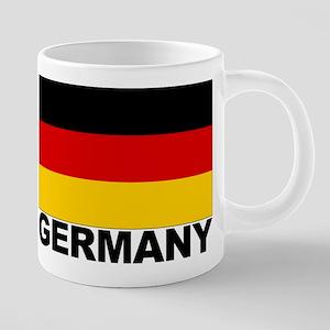 germany_b 20 oz Ceramic Mega Mug