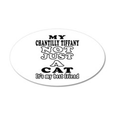 Chantilly Tiffany Cat Designs Wall Decal