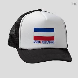 serbia-and-montenegro_b Kids Trucker hat