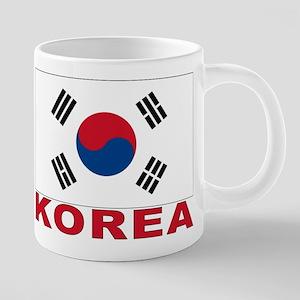 south-korea_b 20 oz Ceramic Mega Mug