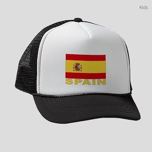 spain_b Kids Trucker hat