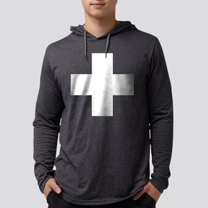 swiss-flag Mens Hooded Shirt