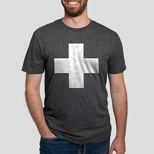 swiss-flag Mens Tri-blend T-Shirt
