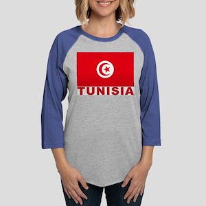 tunisia_b Womens Baseball Tee