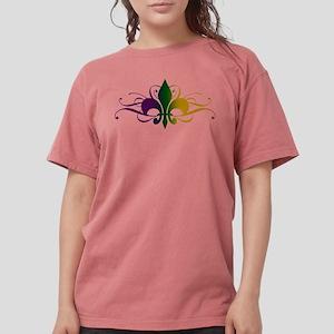 fleur-de-lis-swirls_color Womens Comfort Color