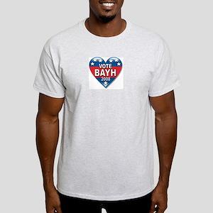 Vote Evan Bayh Elect 2008 Political Light T-Shirt