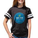"""We Say Yes"" Youth Football Shirt T-Shir"