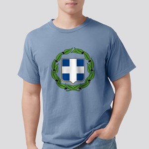 greek-crest Mens Comfort Colors Shirt