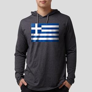 greek-flag Mens Hooded Shirt