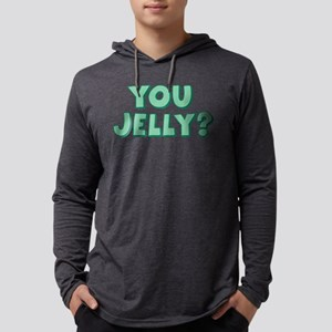 You Jelly Mens Hooded Shirt