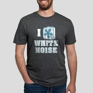 I Love White Noise Mens Tri-blend T-Shirt