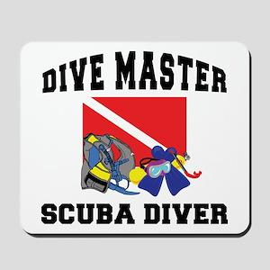 Dive Master SCUBA Mousepad