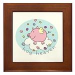 Hog Heaven Framed Tile