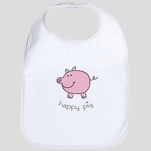 Happy Pig Bib