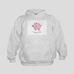 Happy Pig Kids Hoodie