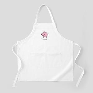 Happy Pig BBQ Apron