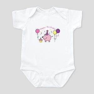 Girl Happy Birthday Infant Bodysuit