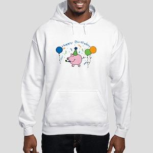 Boy Happy Birthday Hooded Sweatshirt