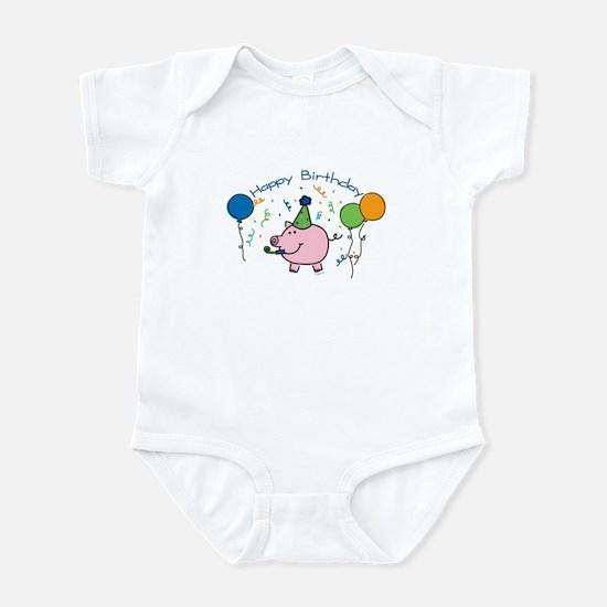 Boy Happy Birthday Infant Bodysuit