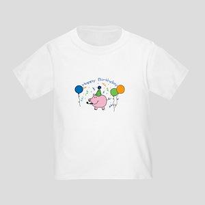 Boy Happy Birthday Toddler T-Shirt