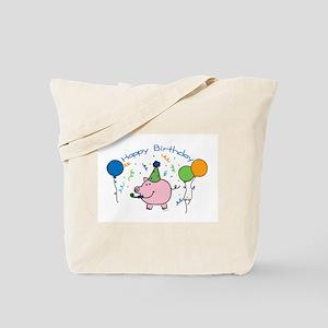 Boy Happy Birthday Tote Bag