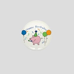Boy Happy Birthday Mini Button