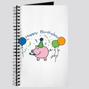 Boy Happy Birthday Journal
