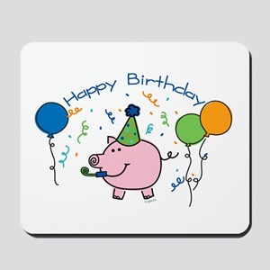 Boy Happy Birthday Mousepad