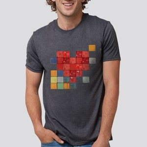 shipping-heart_tr Mens Tri-blend T-Shirt