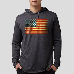 100-dollar-FLAG Mens Hooded Shirt